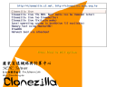 Clonezilla splash screen