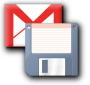 Gmail save to disk